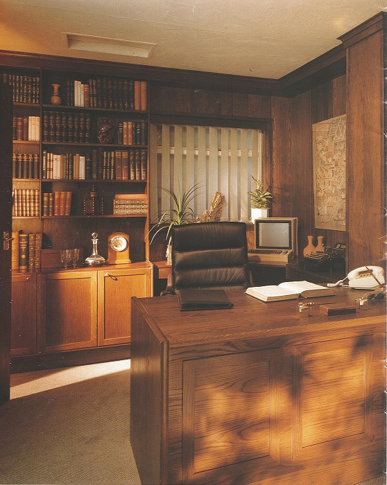 Seventies Fitted Office Furniture