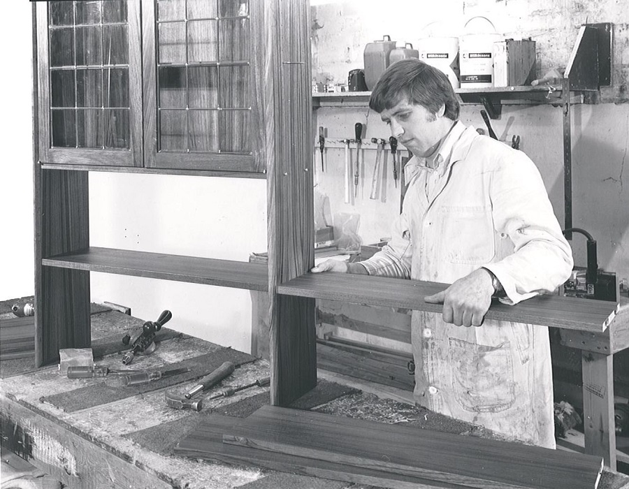 Seventies Cabinet Making