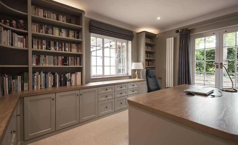 Painted Finish Home Office Study