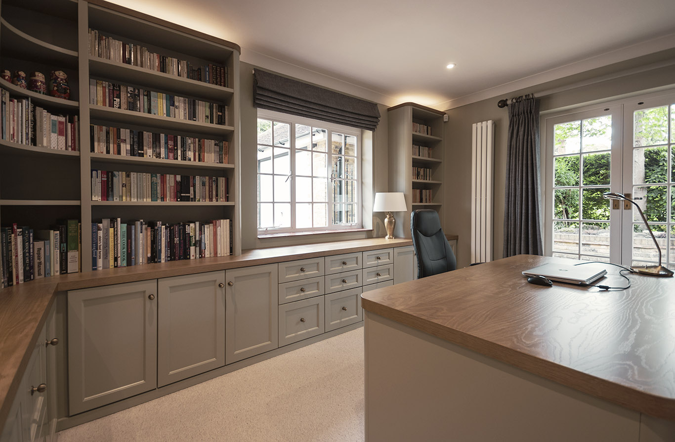 Fitted Home Office Furniture Bespoke Furniture