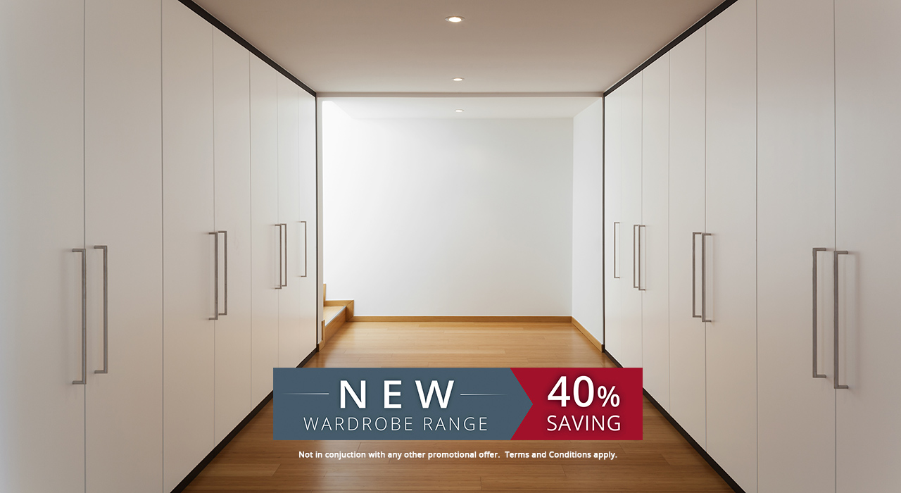 New fitted wardrobe range
