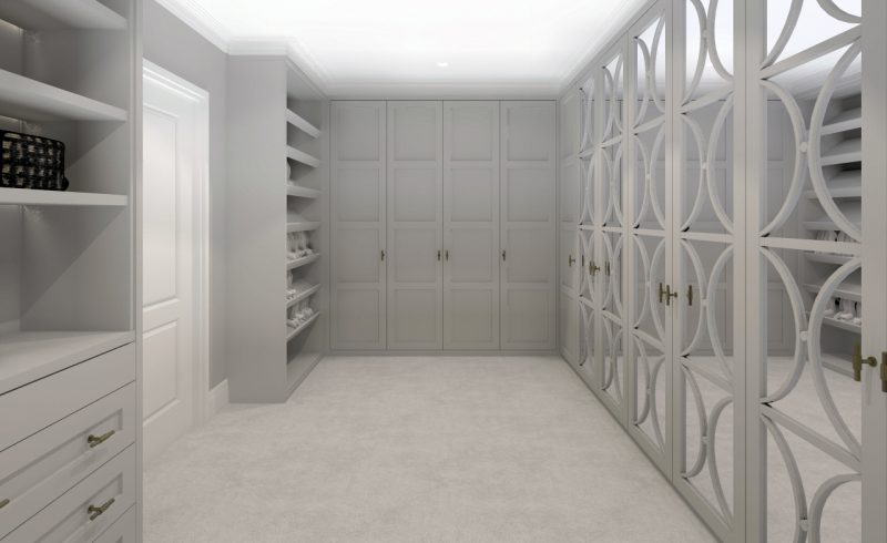 E-Design - Dressing Room Design
