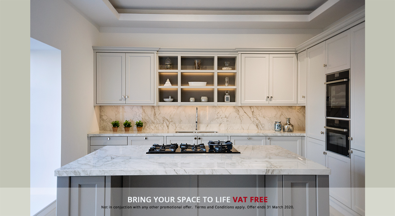 Fitted Kitchens VAT Free promotion